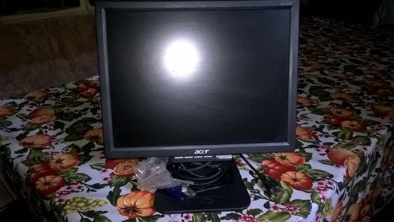 Monitor Marca Acer 15 Pulgadas Lcd 20 Vrds