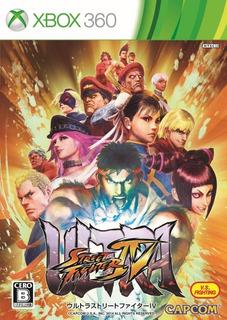 Ultra Street Fighter 4 Xbox 360 - Permanente