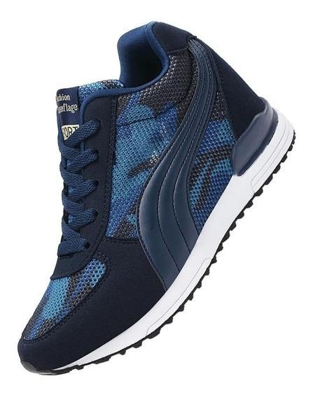 Sneaker Feminino Baoluma 72398 Importado Frete Grátis