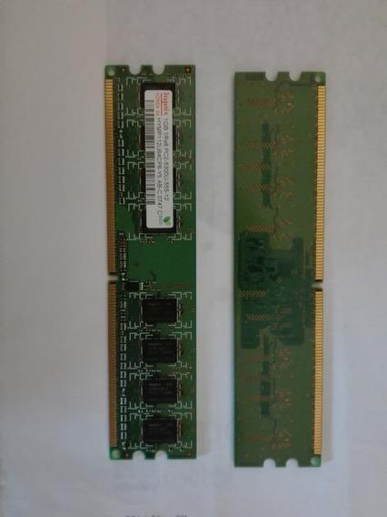 Memoria Ram (2x1gb) Hynnix Hymp112u64cp8