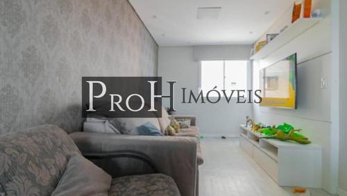 Imagem 1 de 15 de Apartamento Para Venda Em Santo André, Vila Eldízia, 2 Dormitórios, 1 Banheiro, 1 Vaga - Tolidea