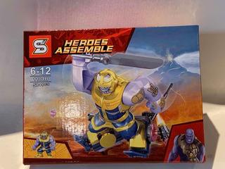 Thanos , Simil Lego , Lego Alternativo Avenger 1184b