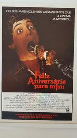 Cartazete Original Filme Feliz Aniversário Para Mim 1981