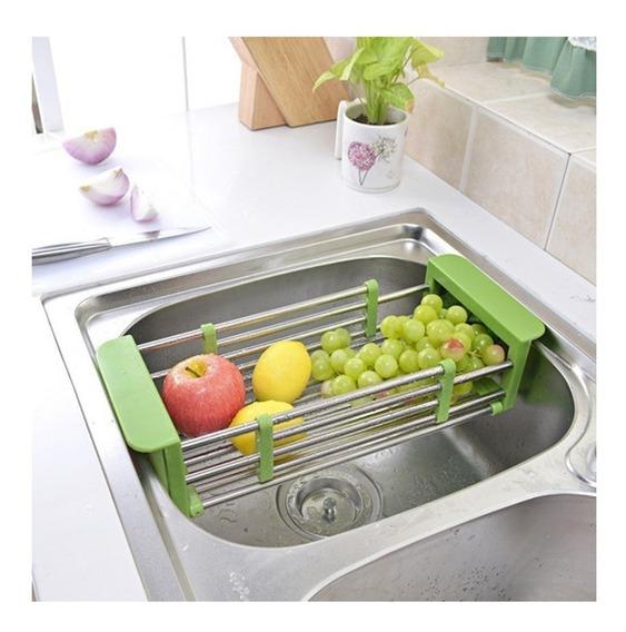 Secaplatos / Vasos / Frutas Escurridor Extensible Para Bacha