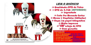 Filme Dvd It Uma Obra Prima Do Medo (1990) Legendado