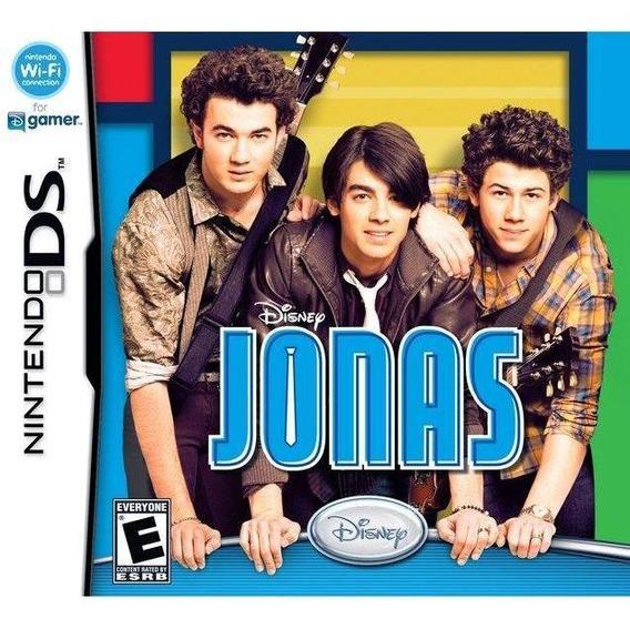 Disney Jonas Nds Mídia Física Novo Original Lacrado
