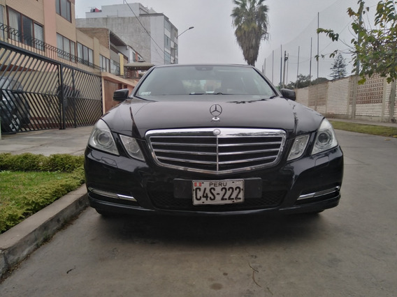 Mercedes Benz E200 2011 Negro 60000km Usd 12500