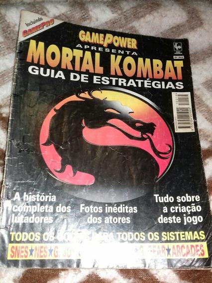 Revista Mortal Kombat Game Power 19a *leia A Descrição*