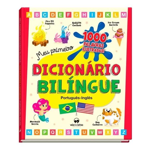 Dicionário Ilustrado Bilíngue Português/inglês +super Brinde