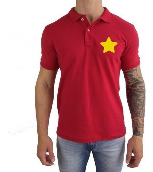 Camiseta Polo Masculina Steven Universe Natal 2018 Promoção