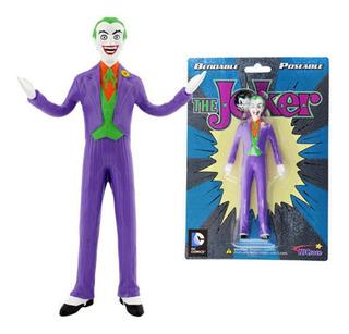 Figura Muñeco Joker El Guason Flexible Goma 13.5cm Dc Comics