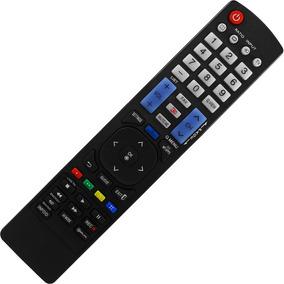 Controle Remoto Tv Lg Lcd / Led 3d Smart Tv Lg Akb73615319