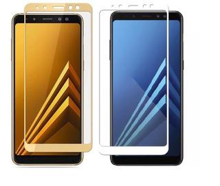 Película De Gel Flexível 5d Samsung Galaxy A8 2018