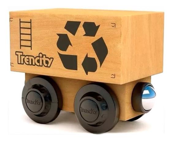 Trencity Vagon De Carga Container Heroes Villanos Educando
