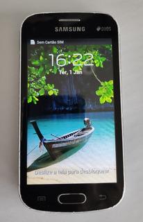 Celular Galaxy Trend Lite 4gb Android 4.1.2 Usado Pega Whats