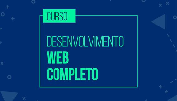 Curso Completo De Desenvolvimento Web