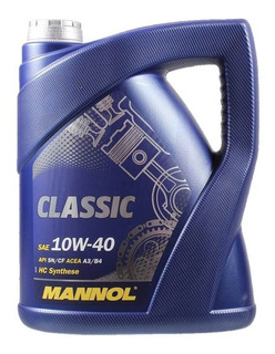 Aceite Mannol Classic 10w40 5lts Made In Germany - Maranello