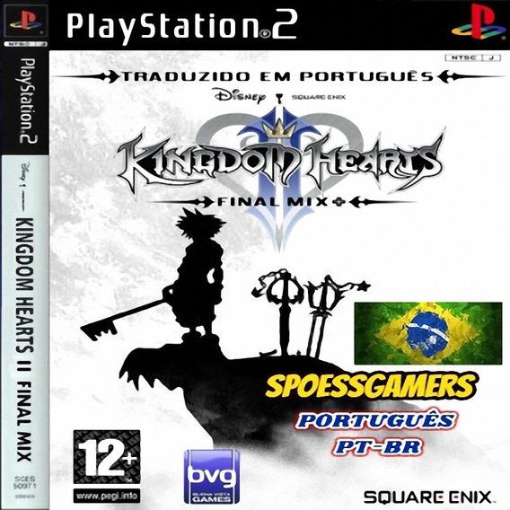 Kingdom Hearts 2 Final Mix+ Ps2 Portugues Pt-br Patch