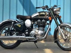 Hermosa Moto Royal Enfield Classic 500 Cromada - Soat