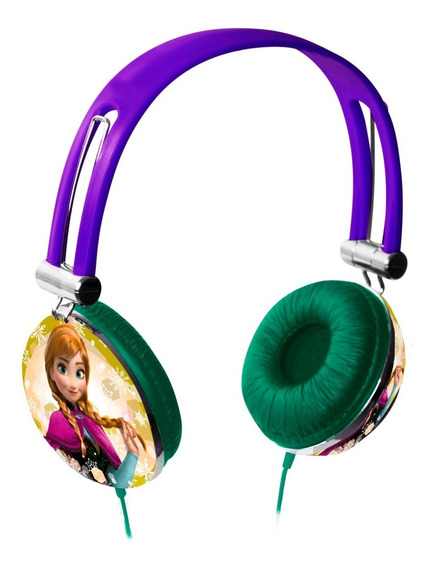 Fone De Ouvido Frozen Headphone Multilaser Pop Estampa Ph131