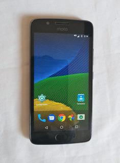 Moto G5, Xt1671, Dual Sim, Gris Oscuro, Estetica 9, Liberado