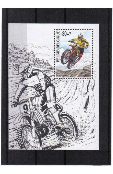 1999 Transportes- Motocros - Belgica - Mnh