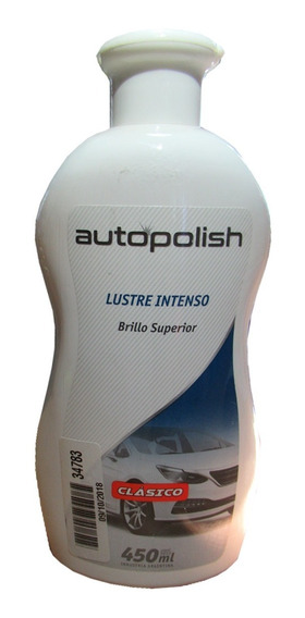 Autopolish Brillo Superior Lustre Intenso Colorin