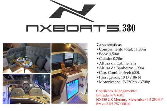 Lancha Nx Boat 380 Ht