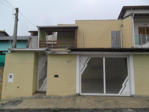 Sobrado À Venda, 3 Quartos, 1 Suíte, 4 Vagas, Vila Oliveira - Mogi Das Cruzes/sp - 714
