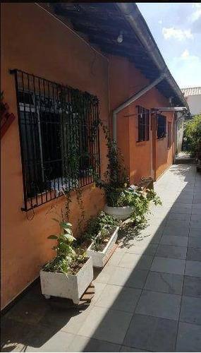 Imagem 1 de 22 de Casa Terrea Com Edicula No Campo Grande - Ca3865