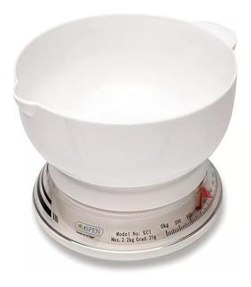 Balanza Mecanica Cocina Aspen Kci Capacidad 2kg Divide 25g