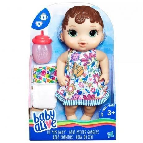 Boneca Baby Alive Hora Do Xixi E0385 Hasbro
