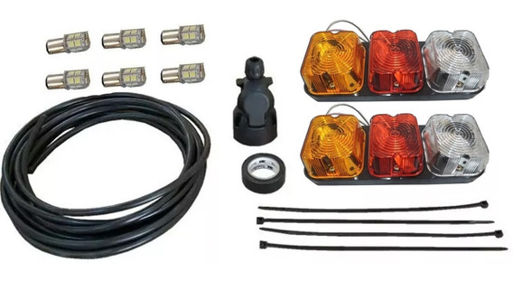 Kit De Luces Trailer Marcha Atrás (focos Led) Envio Gratis