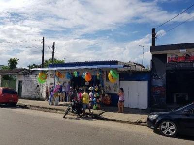 Ótimo Comércio Com Moradia Na Praia, Itanhaém-sp!