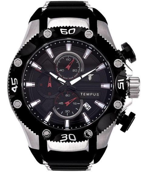 Relógio Masculino Tempus Zw30330t Barato Original Garantia
