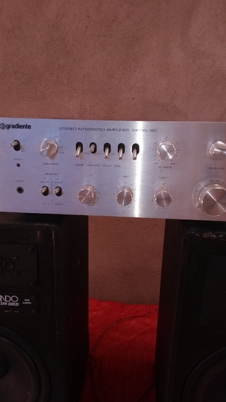 Model 160,gradiente 40 Watts Com Duas Caixas Lando