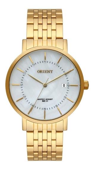 Relógio Orient Feminino Fgss1164 B1kx Dourado Analogico