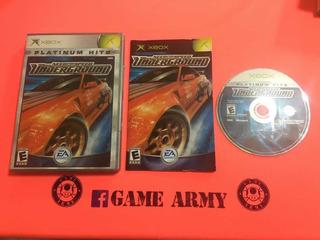 Need For Speed Underground Xbox