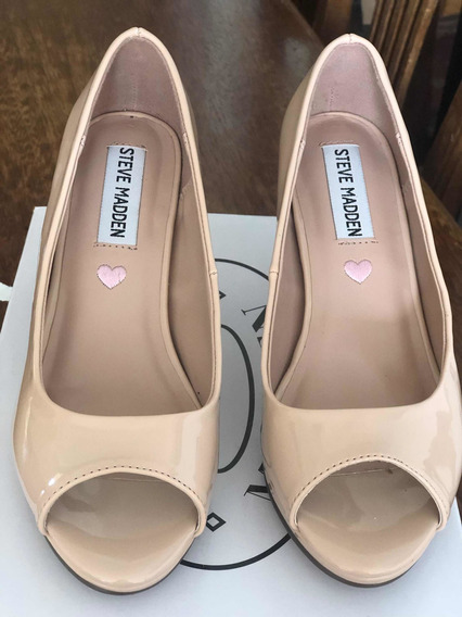 Stilletos Nude Abiertos Steve Madden