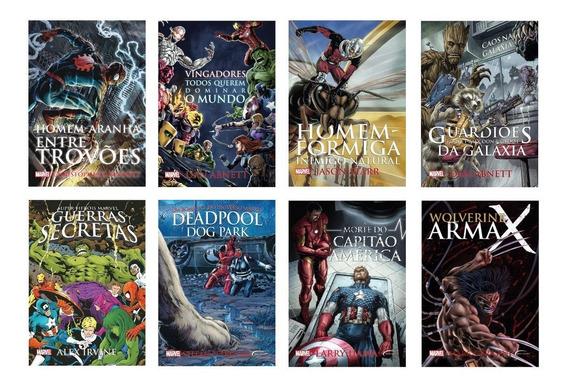 Kit 8 Livros - Super Heróis Marvel 1 - Edição Econômica #
