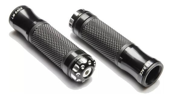 Manopla Para Moto Modelo Esportivo Aluminio