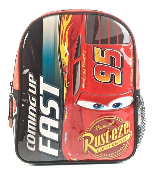 Mochila Cars Coming Up Fast Rojo 12