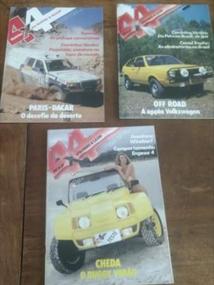 Lote De Revistas 4x4 - (21 Revistas) Frete Gratis