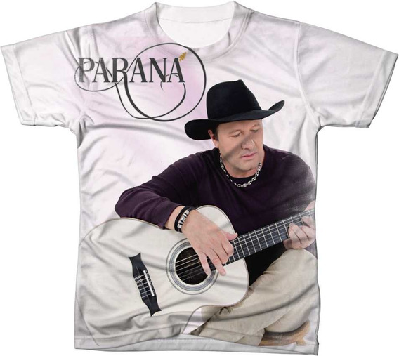 Camisa Camiseta Cantor Parana Da Dupla Chico Rey