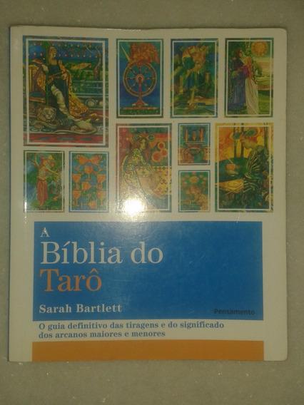 A Bíblia Do Tarô - Sarah Bartlett