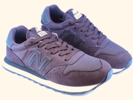 Tênis New Balance 500 - Casual Masculino Marron