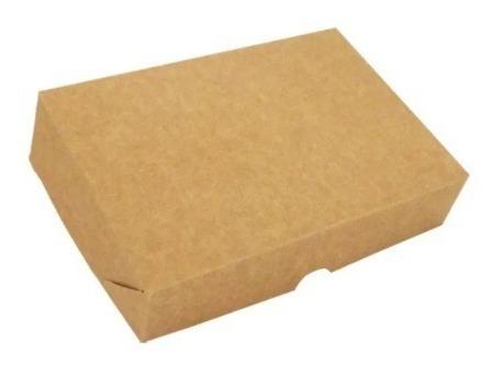 Imagem 1 de 3 de Caixa De Presente C/20 Unidades 15x12,5x5 Kraft Embalagem