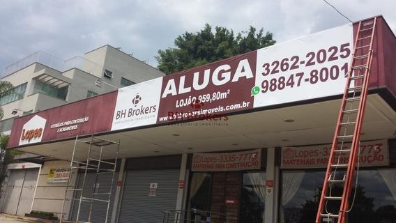 Loja Para Alugar No Ipê Em Nova Lima/mg - 13161