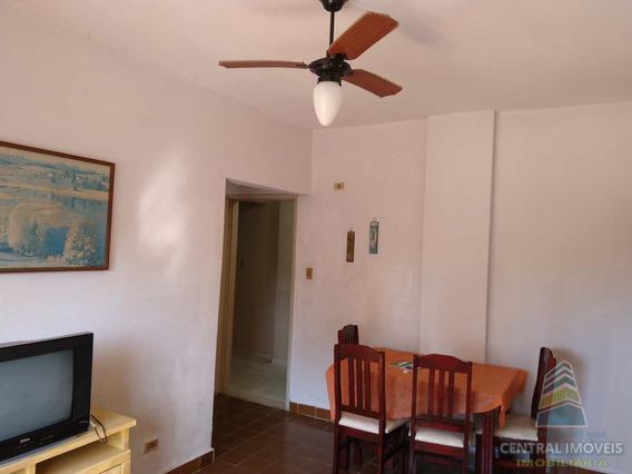 Apartamento Com 1 Dorm, Caiçara, Praia Grande - R$ 135 Mil, Cod: 7411 - V7411