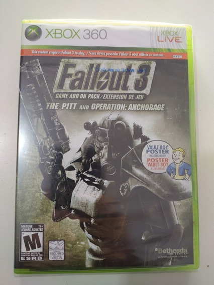 Fallout 3 Original Para Xbox 360 .....mídia Física...